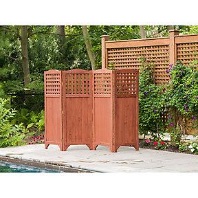 Leisure Season Écran d\'intimité pliable de jardin | Home Depot Canada