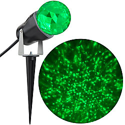 Kaleidoscope LED Spotlight in Green