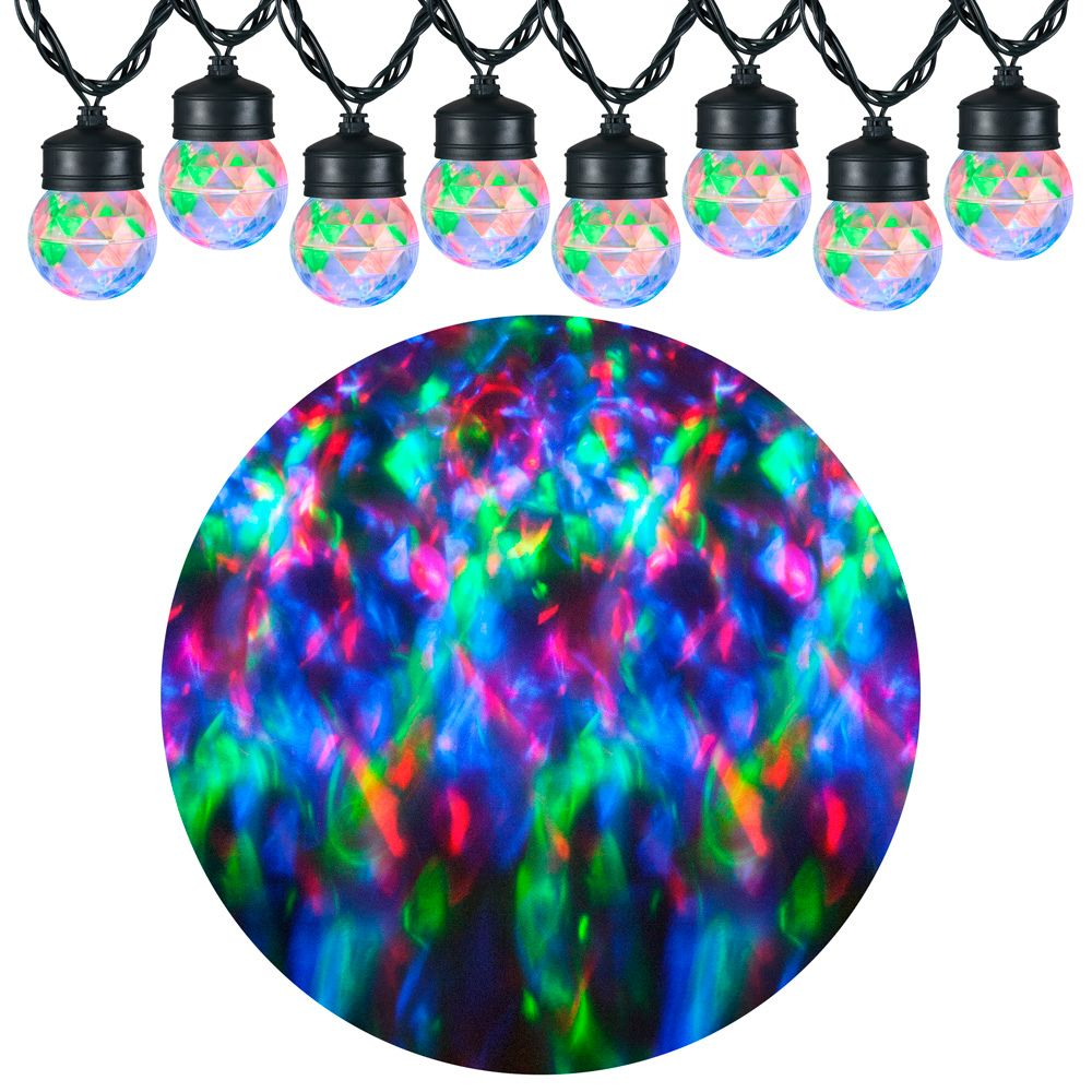 Light Show Projection Light String with Clips-Kaleidoscope L