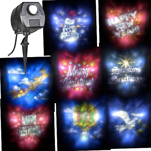 Outdoor LED Spotlight Holiday Scene Projector
