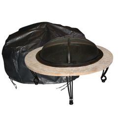Paramount Outdoor Vinyl Round Fire Pit Cover