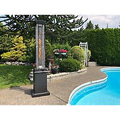 Full Size Square Flame Propane Patio Heater