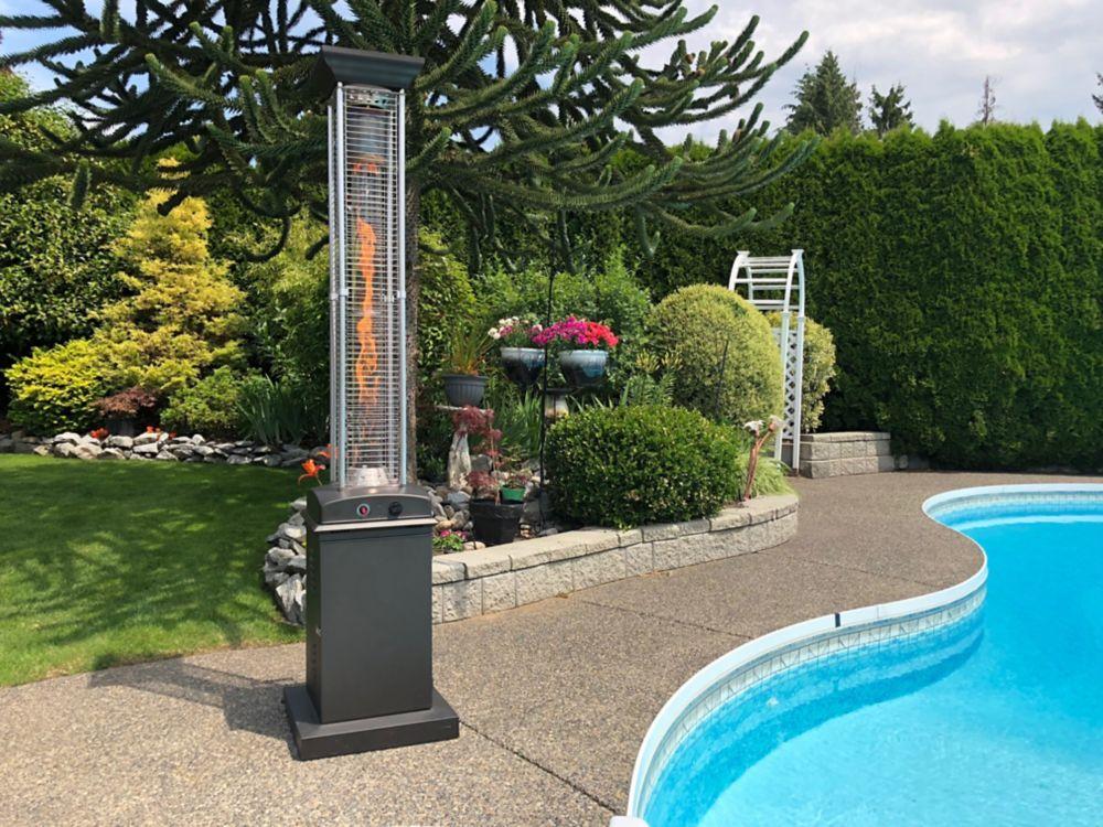 outdoor heater pinterest aluminum heaters on btu reflector with standard fire decks sense images ideas best propane patio backyardheating