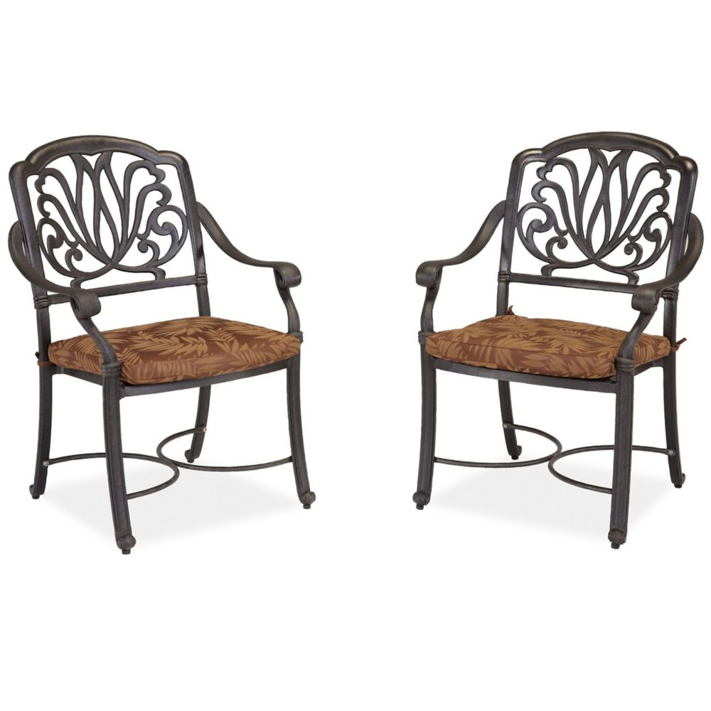 Set Of Arm Chairs W/ Cushion