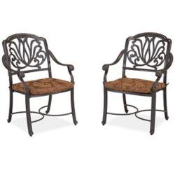 Floral Blossom Ensemble de fauteuils avec coussins