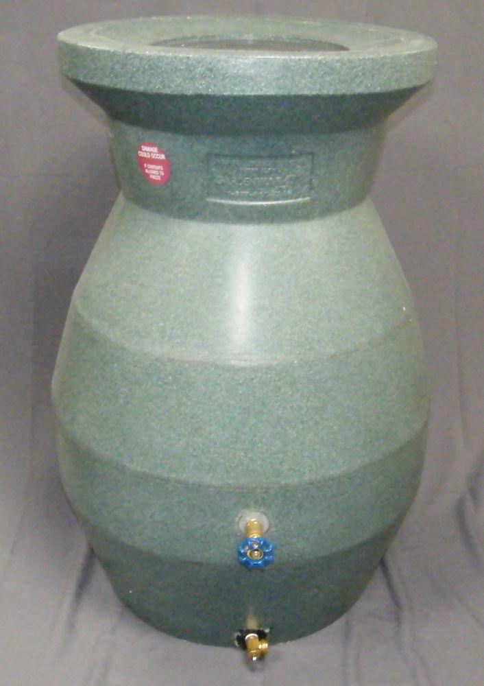 Rain barrel (Green stone)
