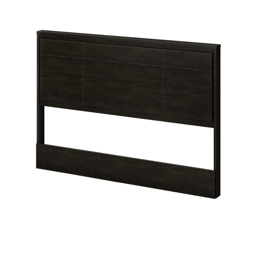 Gravity Collection Queen Headboard (60'') Ebony