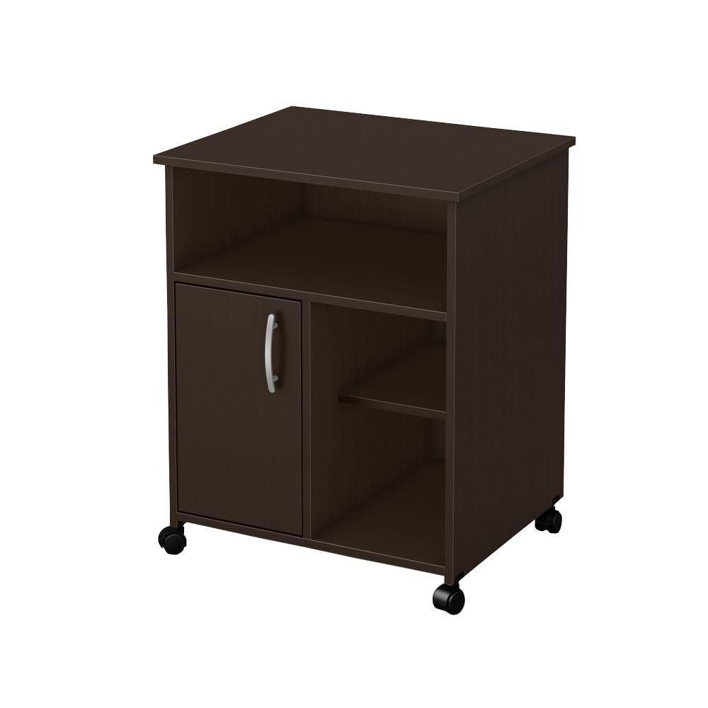south shore meuble de rangement imprimante freeport chocolat home depot canada. Black Bedroom Furniture Sets. Home Design Ideas