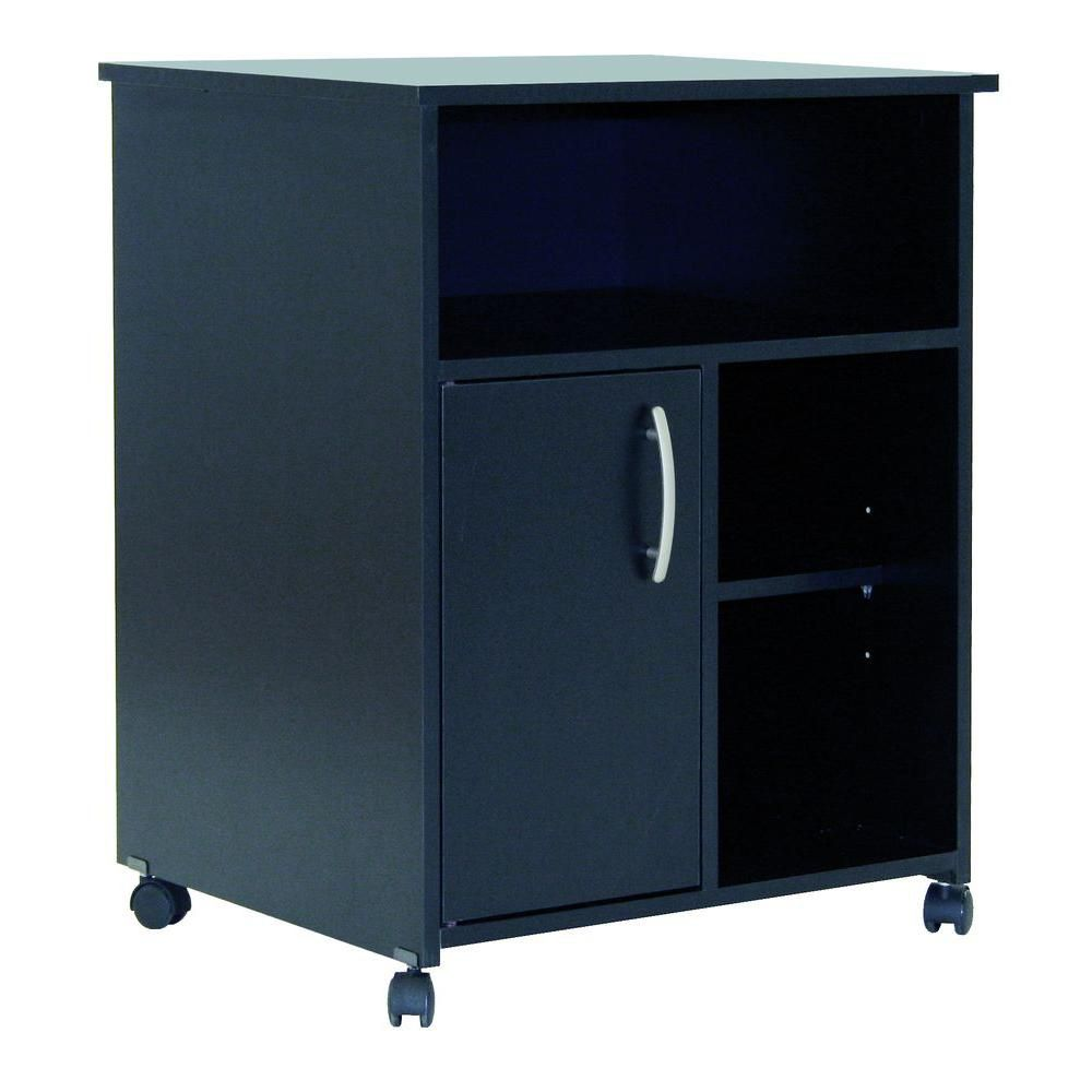 Freeport 23.5-inch x 29.37-inch x 19.5-inch Manufactured Wood Filing Cabinet in Black