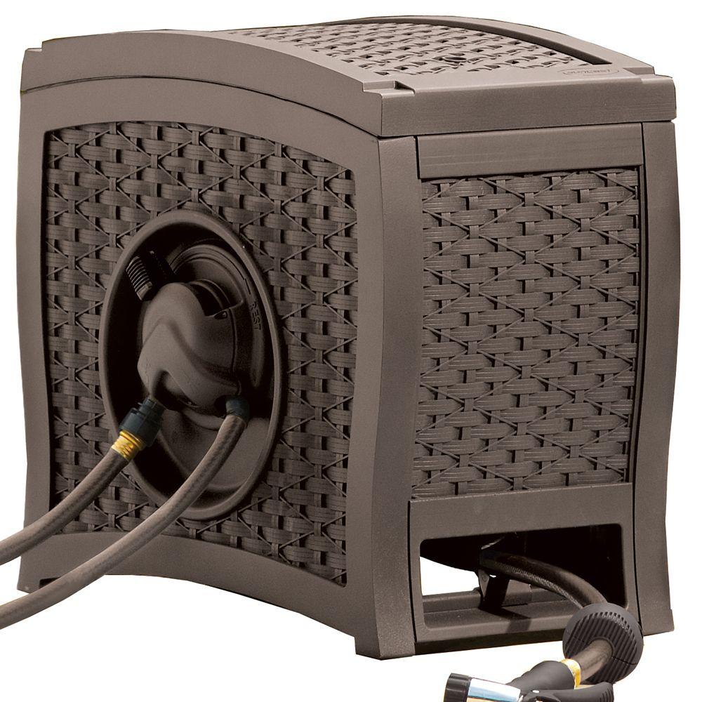 Dévidoir de tuyau «AquaWinder» à enroulement  automatique