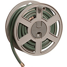SideWinder Wall Mount Hose Reel with 100 ft. Capacity