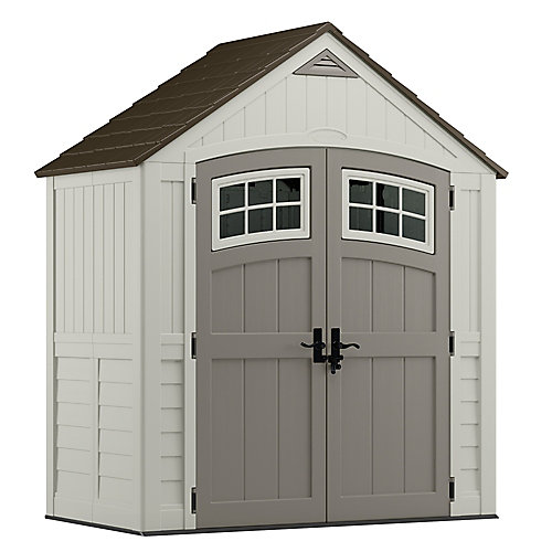 7 ft. X 4 ft. Cascade Shed