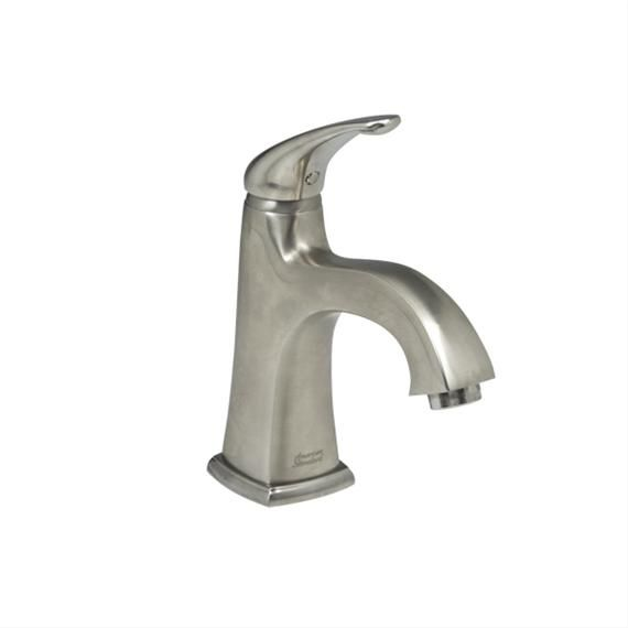 American Standard Tofino Single Hole 1-Handle Mid Arc Bathroom Faucet in Brushed Nickel with Lever Handle
