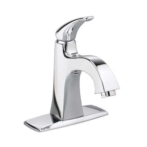 Tofino Monoblock Bathroom Faucet in Chrome Finish