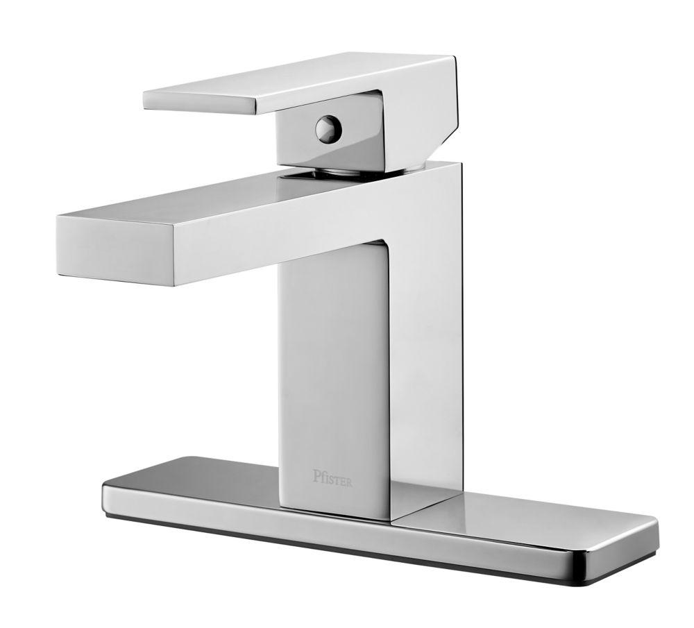 Victorian Single Hole 1 Handle High Arc Bathroom Faucet In Chrome 754LF Canad
