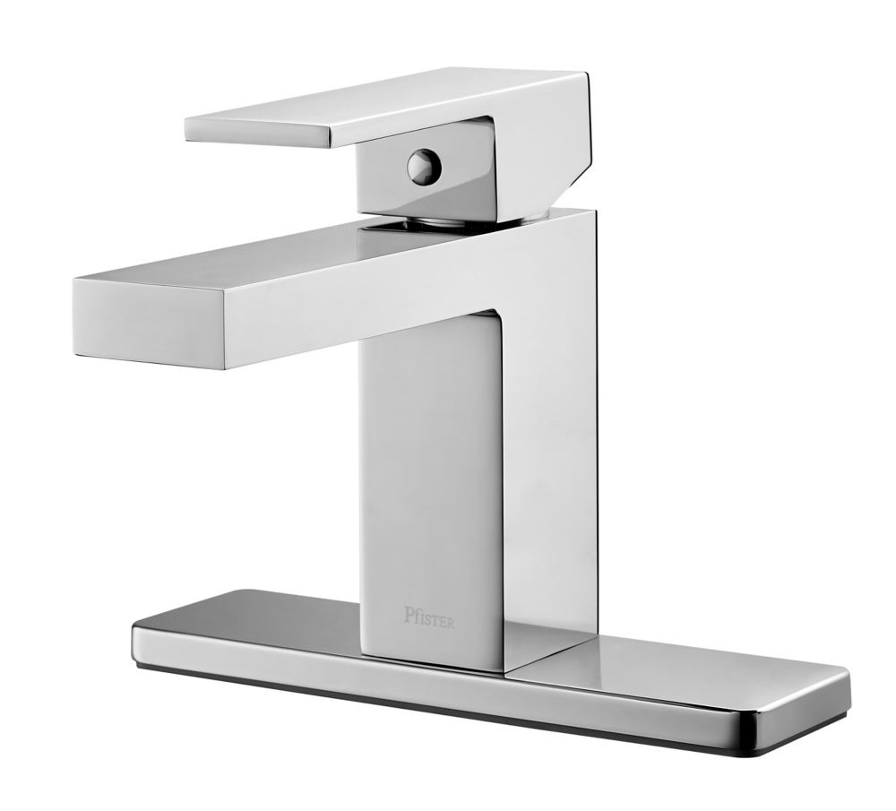 Evanton Single-Handle Bathroom Faucet in Chrome Finish