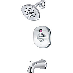 Addison 1-Spray Tub  Shower Faucet in Chrome with Showerhead