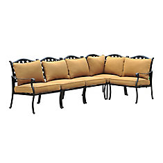 Ruby Patio Sectional Sofa
