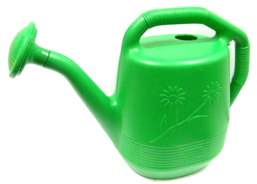 Arrosoir, de couleur verte