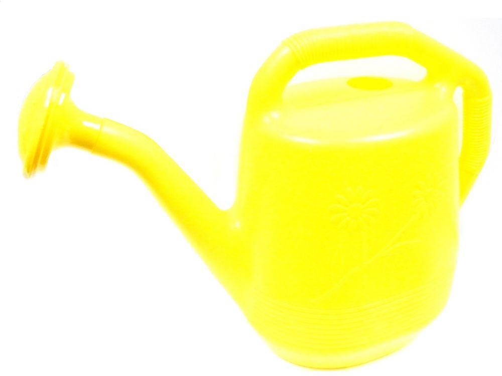 Arrosoir, de couleur jaune