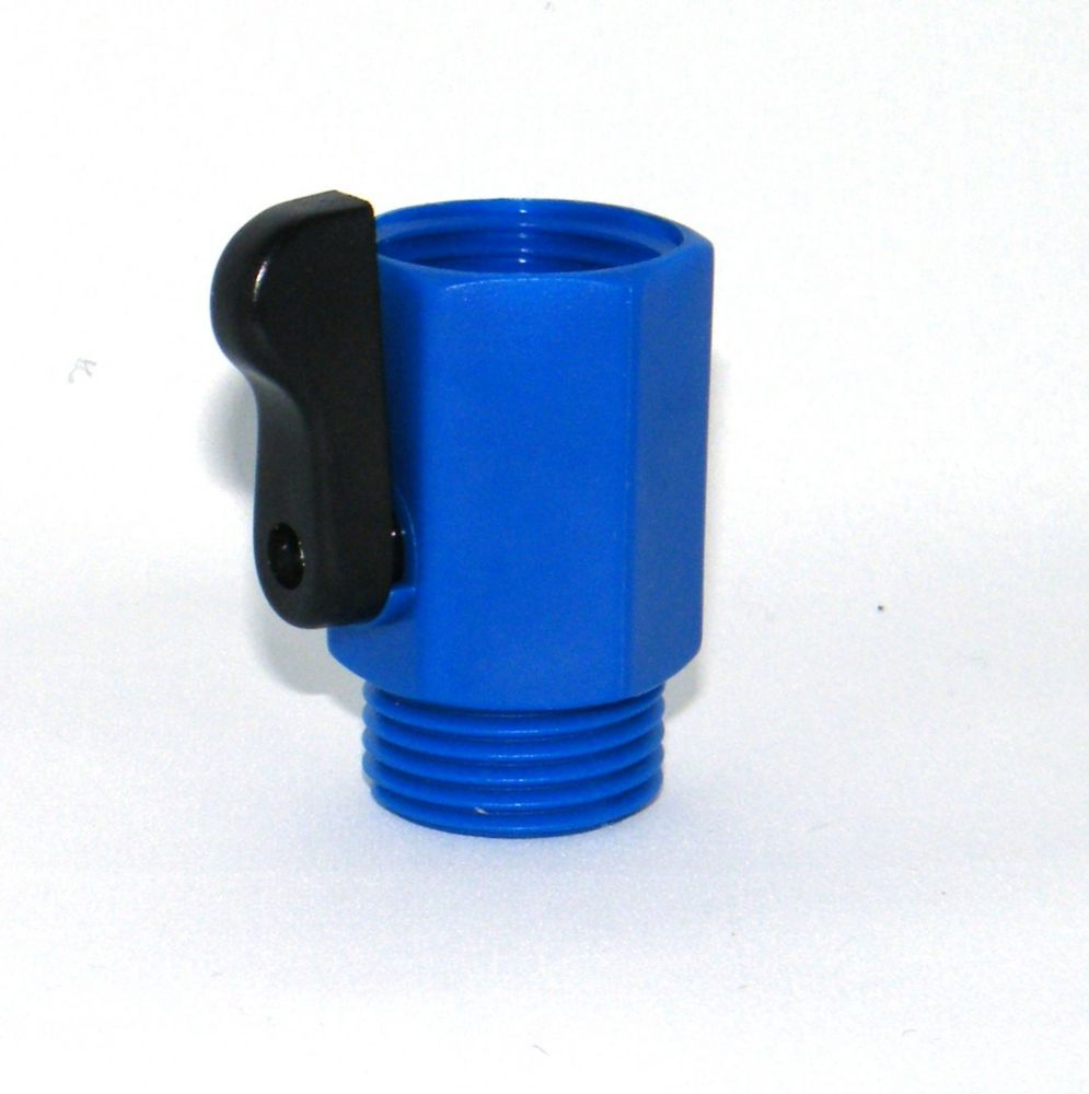 Large Single Shut-Off in Blue