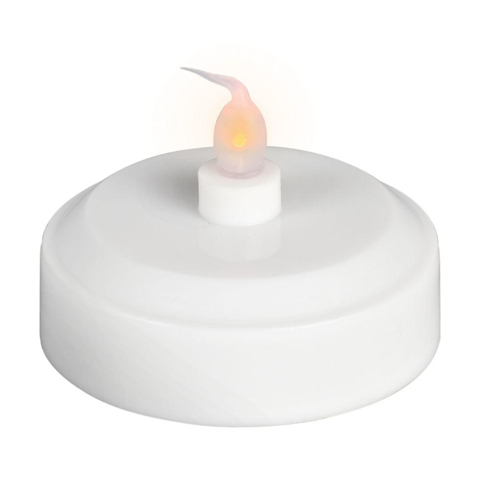 Bougie chauffe-plat à DEL en forme de citrouille à double fonction