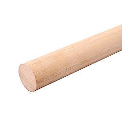 Everbilt 72 inch Oak Heavy Duty Closet Pole