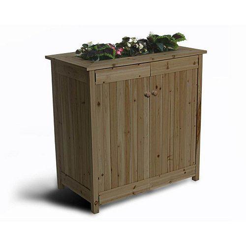 Algreen Products ErgoGarden 16 cu. ft. Deck Box