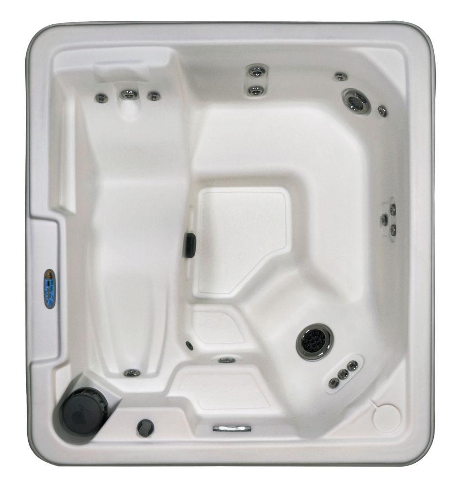 Sirena 5-Person 36-Jet Plug and Play Lounger Spa in Glacier White