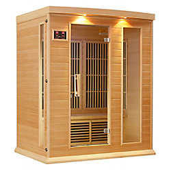 Better Life K306 3-Person Far Infrared Sauna with Chromotherapy, MP3 CD Stereo and 2 Speakers