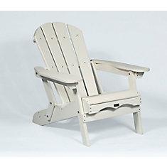 Muskoka Folding Chair in White