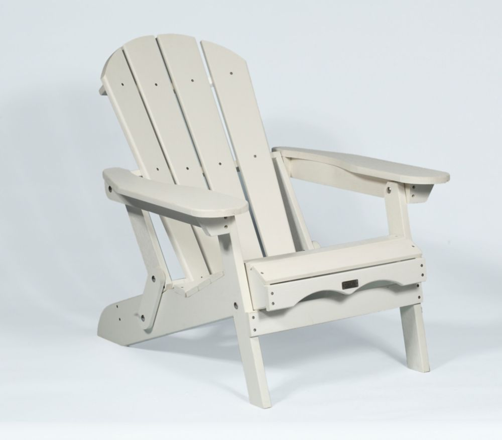 White Adirondack Folding Chair