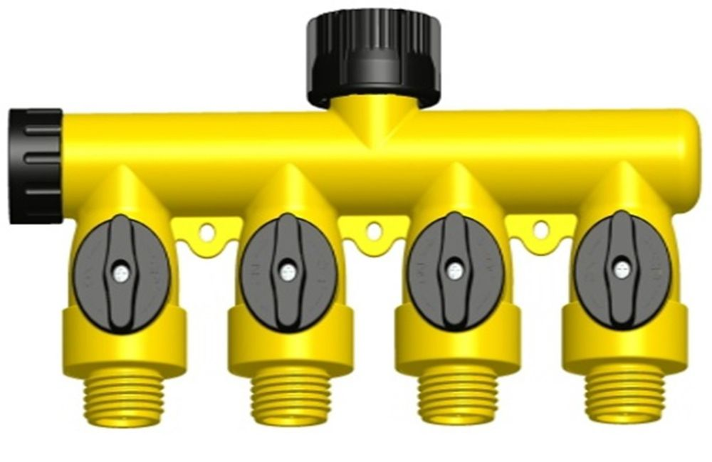 4-way poly connector