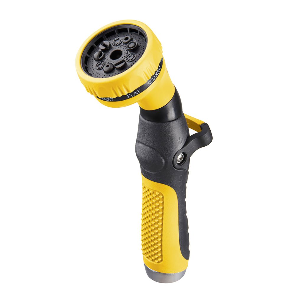 Thumb Control 9-Pattern Nozzle in Yellow
