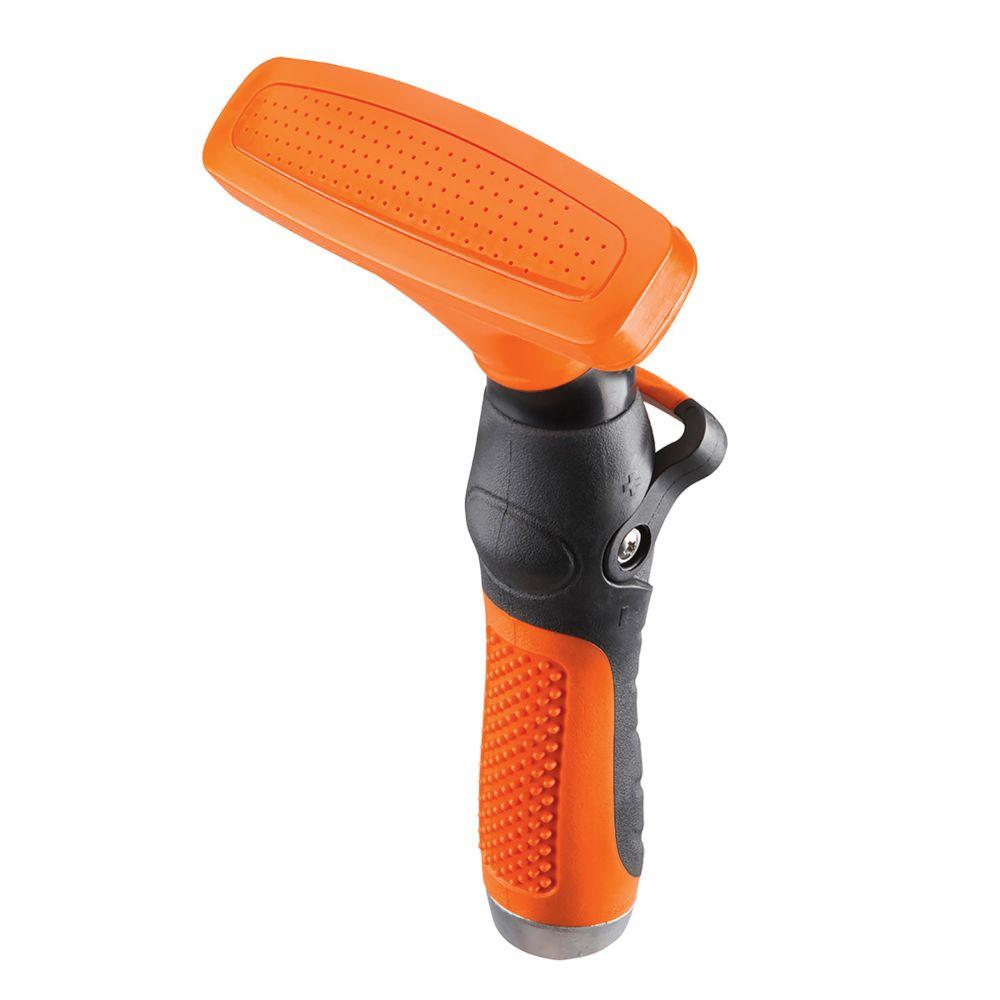 Thumb Control Fan Spray Nozzle in Orange