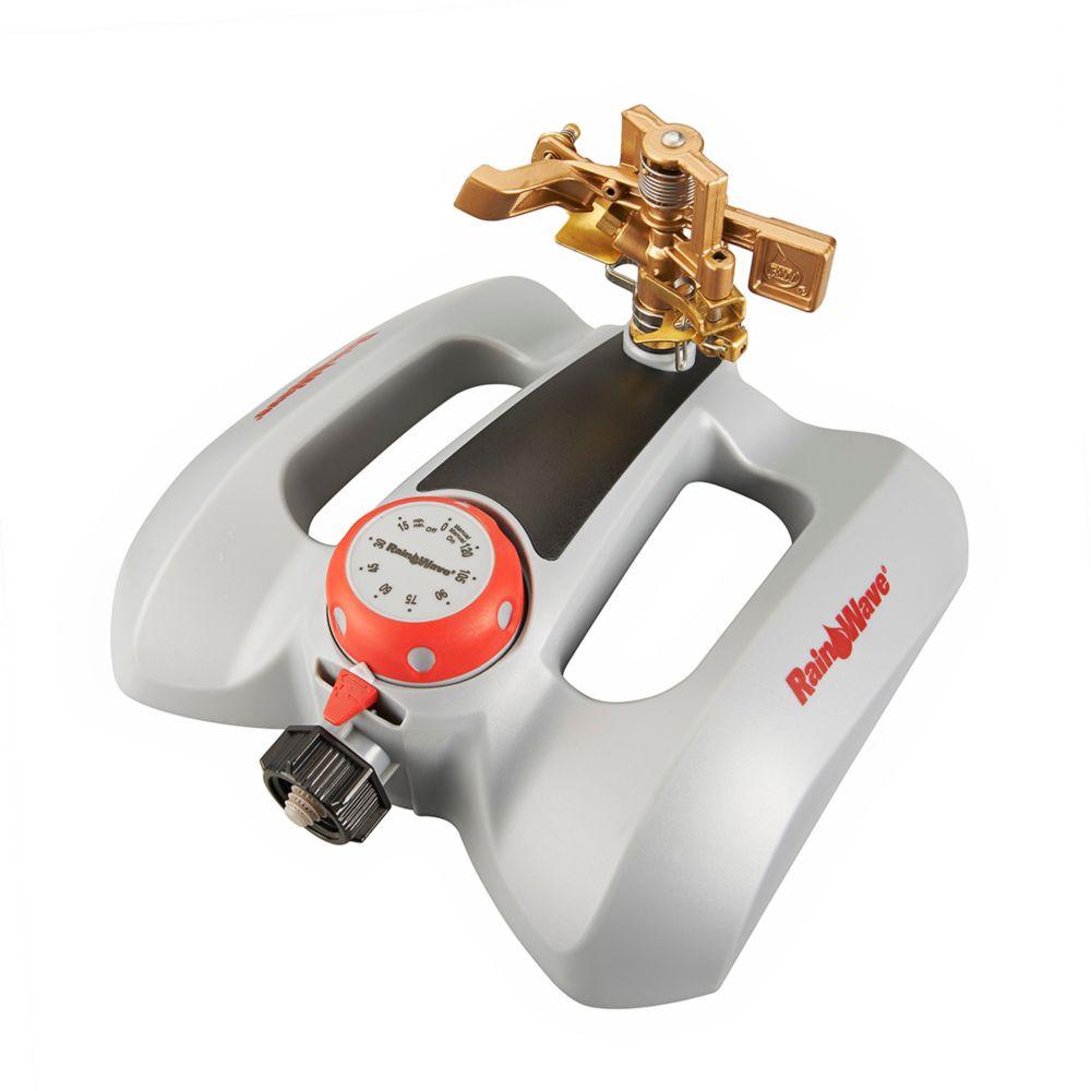 Metal pulsating sprinkler / timer