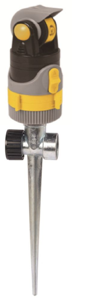 Continental 4-Pattern Rotary Sprinkler on Spike
