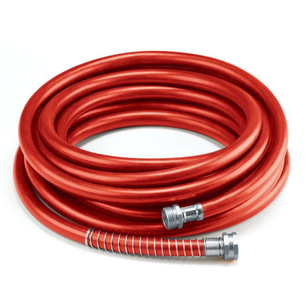 """Colourwave 5/8"""" x 50' Premium Rubber Garden Hose - Red"""