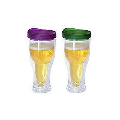 Beer Mug Purple/Green (2-Pack)