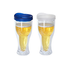 Beer Mug Blue/Clear (2-Pack)