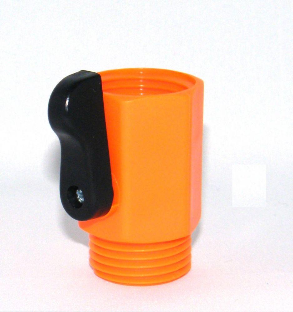Large single shut off Orange