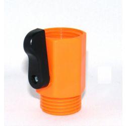 Colourwave Large Single Shut-Off in Orange
