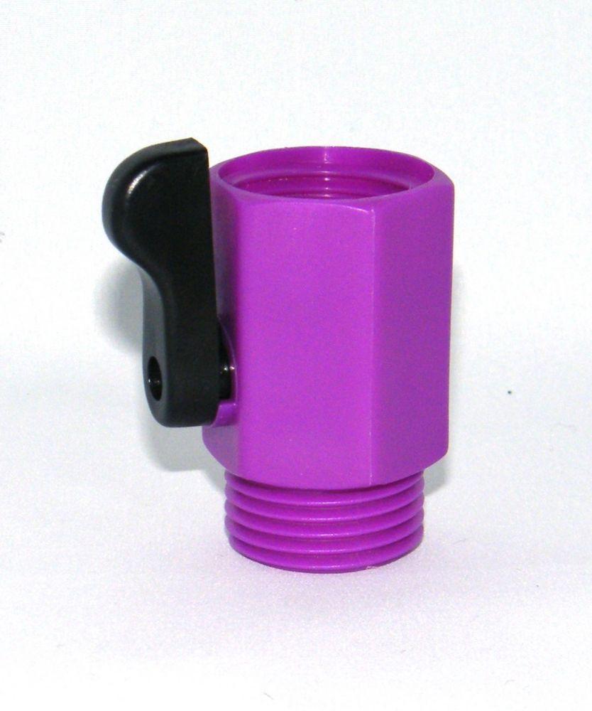 Large single shut off Purple