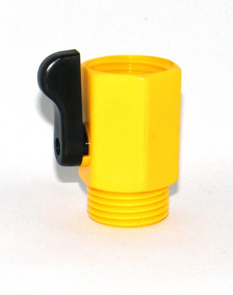 Large single shut off Yellow