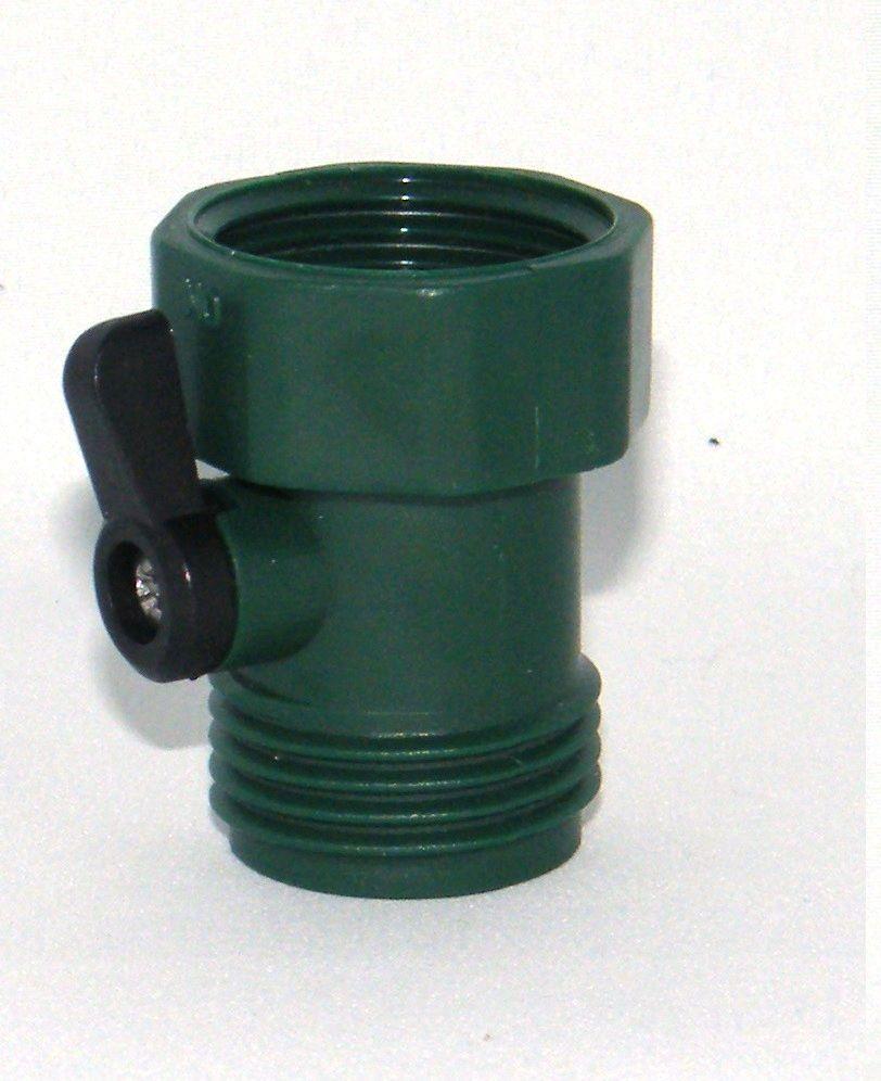 Single hose shut off Green