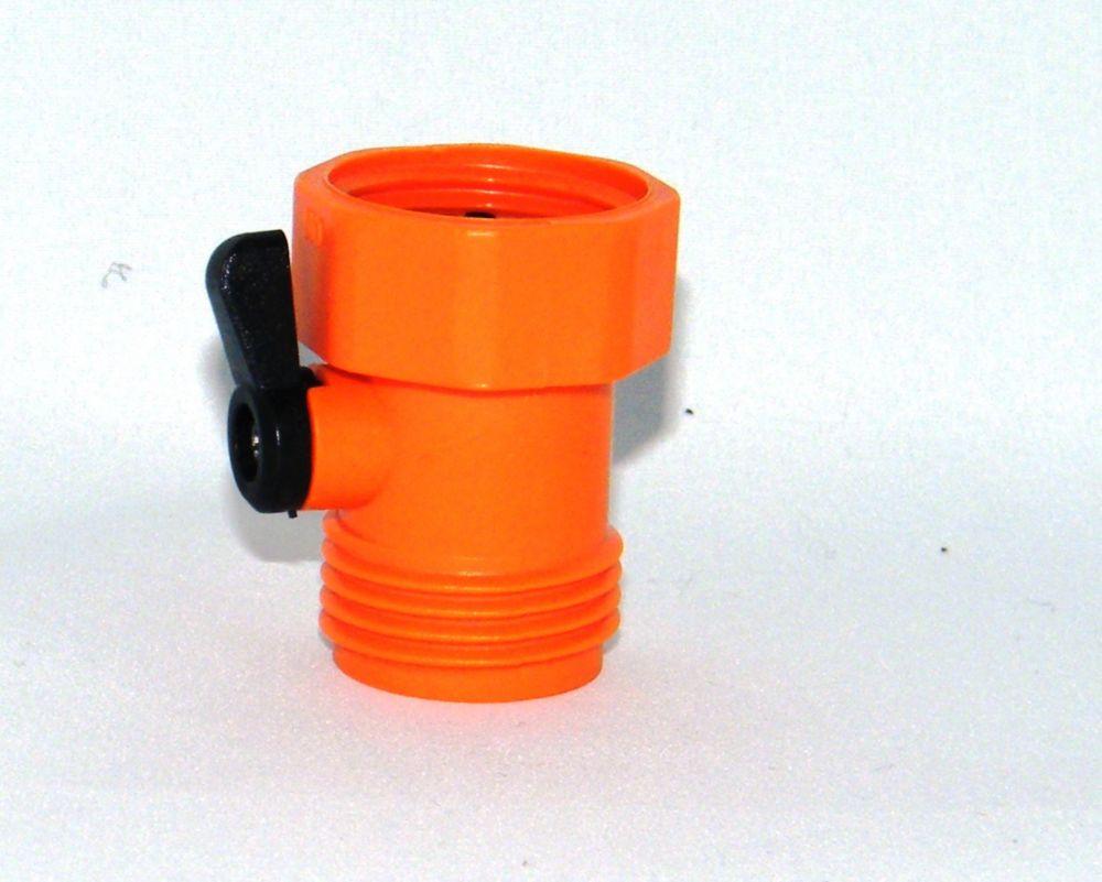 Single hose shut off Orange