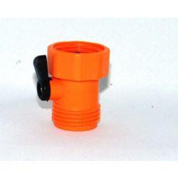 Colourwave Single Hose Shut-Off in Orange