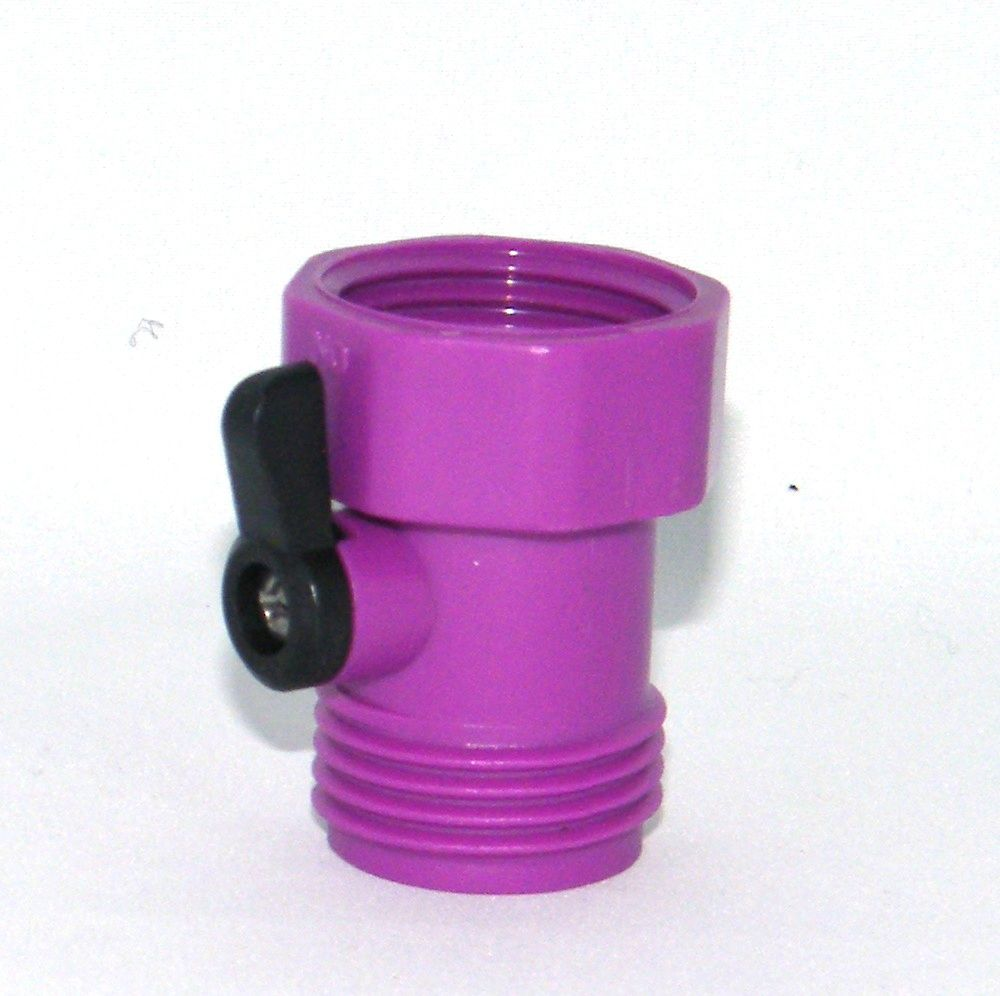 Single Hose Shut-Off in Purple