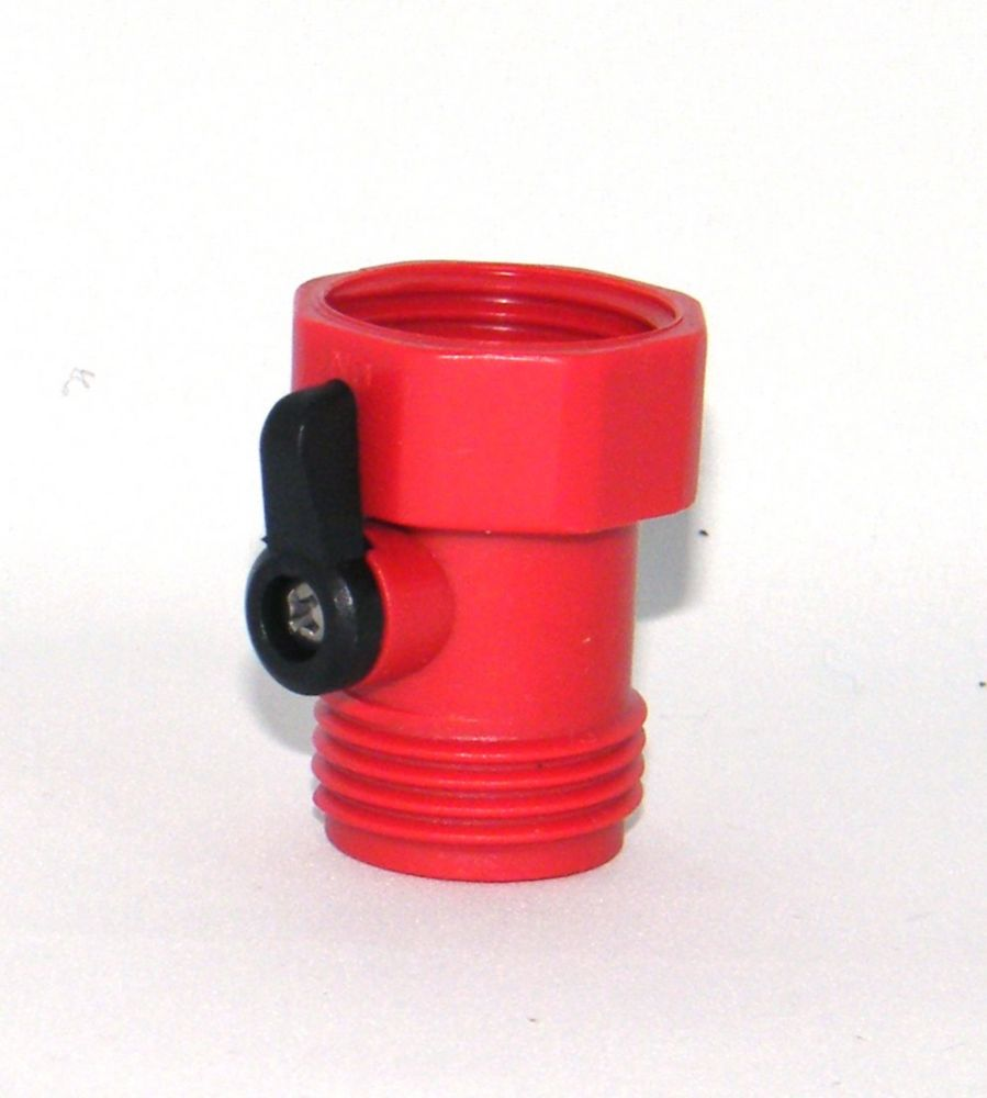 Single hose shut off Red CW-9390P-R in Canada