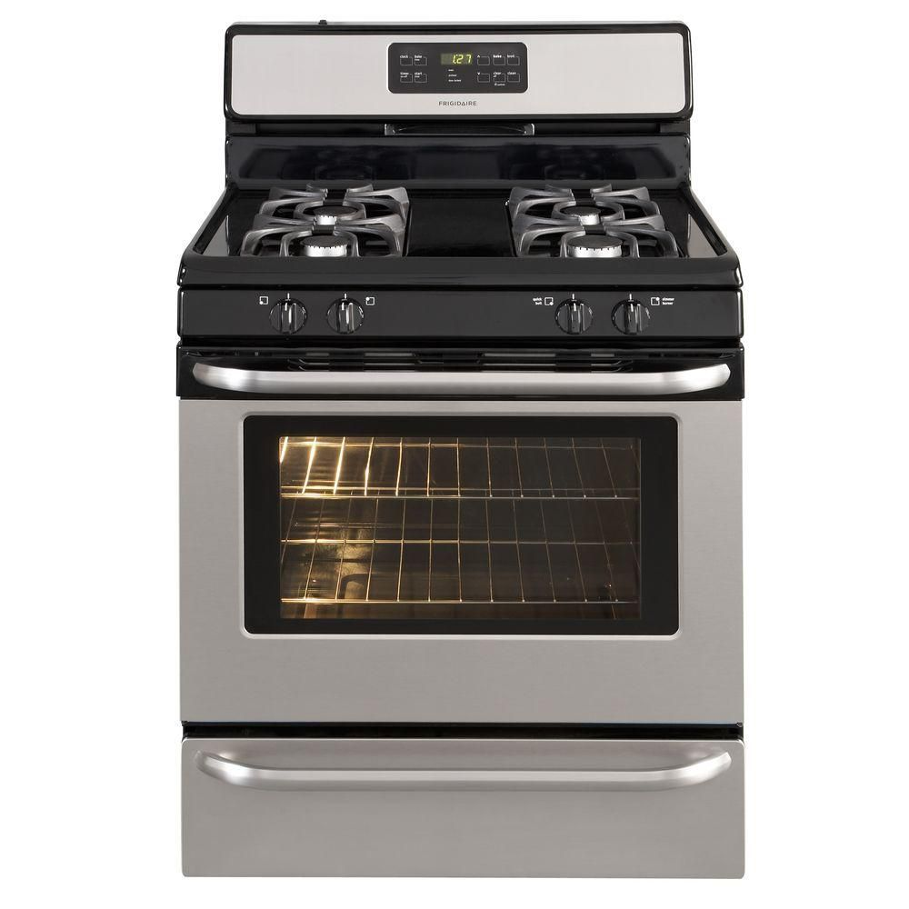 5.0 cu. ft. Self-Cleaning Free-Standing Gas Range in Stainless Steel